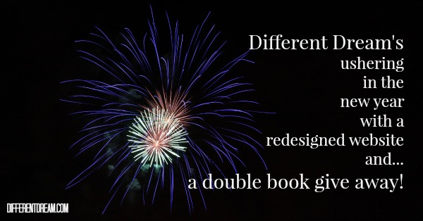 Different Dream is celebrating the new year and its new web design with a special needs book give away. In fact it's a double book give away!