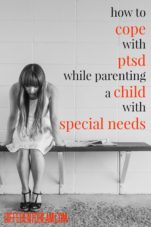 What coping mechanisms can parents of kids with special needs employ when they feel anxiety building? Dr. Liz Mathies answers mom with secondary PTSD.