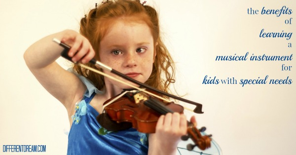 Five Reasons Music Helps Children with Special Needs