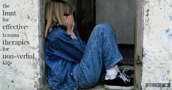 Effective Trauma Treatment for Nonverbal Children