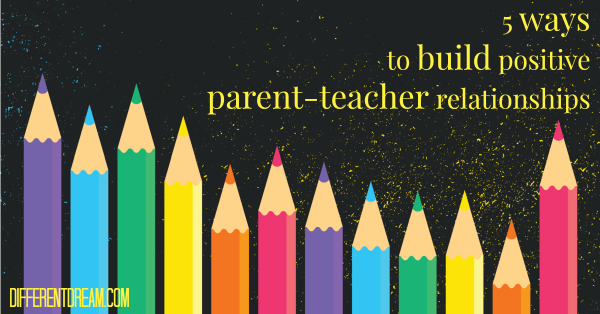 You have the power to build positive parent teacher relationships during this school year. Here are 5 to get you started. Next week, come back for 5 more.