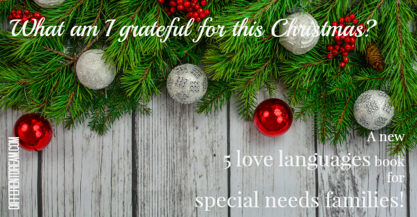 Thankful for the 5 Love Languages for Special Needs Families Project