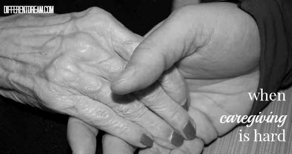 Caregiving is hard, whether the caregivers are parents of children with special needs and disabilities, adult children caring for aging parents, or friends who have no relatives to look after them.