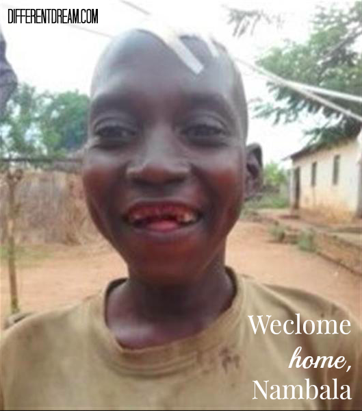 Nambala Is Home
