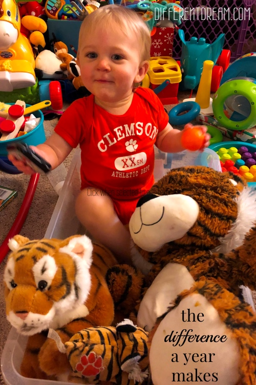 Kristen Horton is back with an update about her EA/TEF boy Christopher and the expected but blessed progress he's made in the past year.