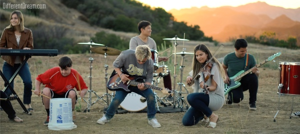 Hello Noon and Special Olympics Athletes Rock Out in Music Video