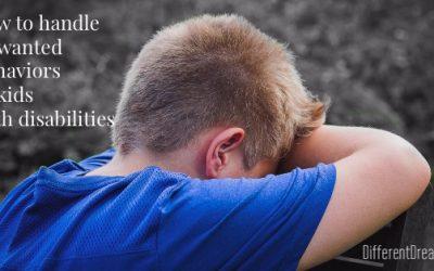 Behaviors in Kids with Disabilities