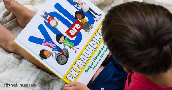 The authors explain why the wrote You Are Extraordinary, a new children's book that celebrates the worth of every child. Enter the drawing to win a copy!