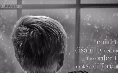 Child First, Disability Second