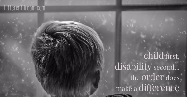 Mark Arnold shares a child first, disability second resource designed to shift our perceptions so we see others as God sees all of us.