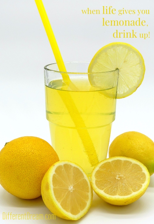 "Caregiving serves up of lemons, but it offers sweetness, too. My motto is ""when life serves lemonade, drink it with gusto."" Join me for a sip of sweetness."