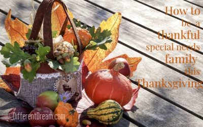 Special Needs Families Can Make Thanksgiving Something to Be Thankful For in These 4 Ways
