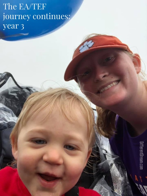 """For the third year in a row, guest blogger Kristen Horton is updating what she describes as """"our unexpected but blessed EA/TEF journey."""" Enjoy catching up with this lovely family!"""