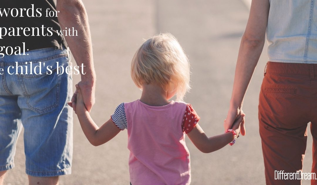 Consider, Respect, and Honor: 3 Words for 2 Parents with 1 Goal