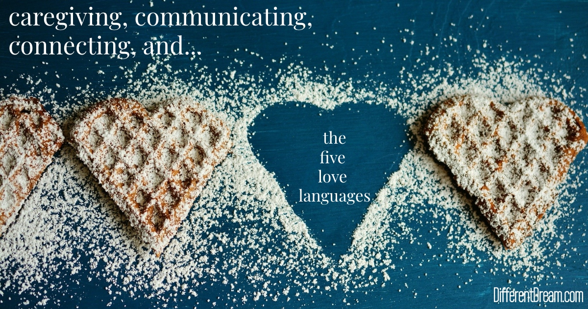 Fostering communication and connection between caregiving parents gets a little easier with these love language ideas.