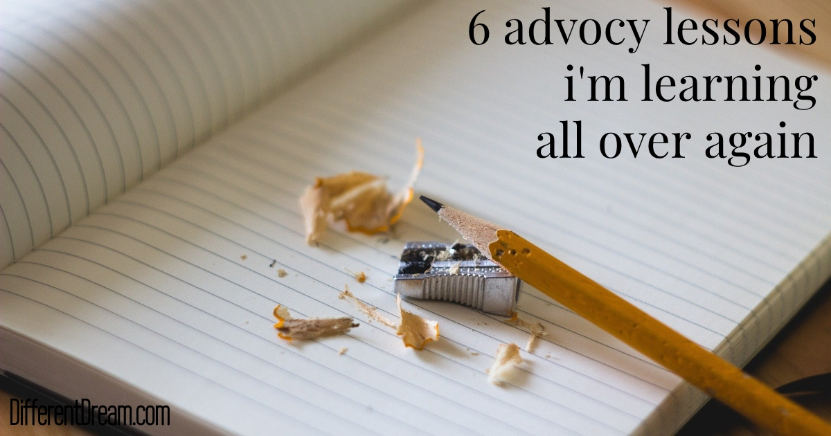 These 6 caregiving advocacy tips served us well when our son was little, and they're doing the same as my mother ages.