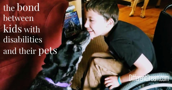 Pets and Kids with Special Needs