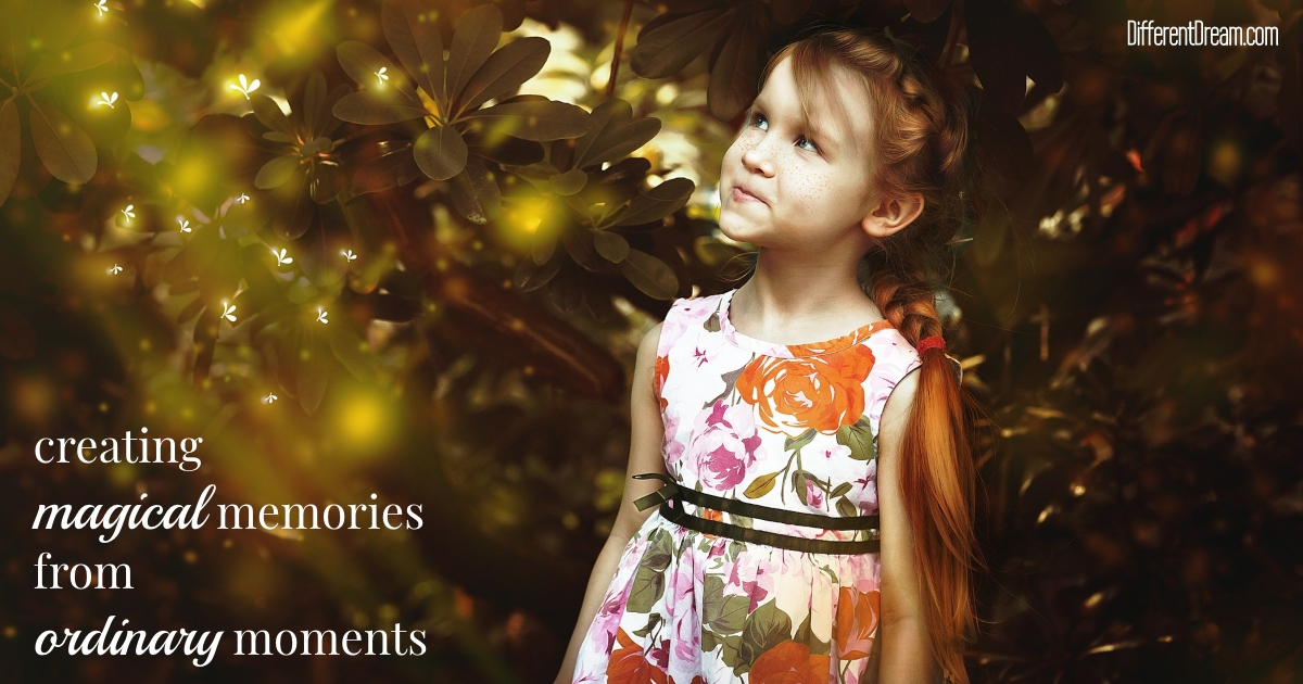 Kristin Evans has 2 tips for parents of kids with disabilities intent upon discovering the gift of simple moments to create special memories.