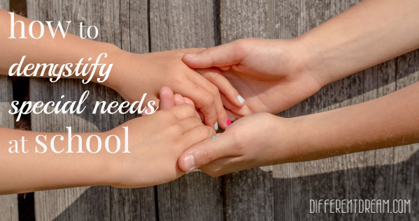 How To Demystify Special Needs at School