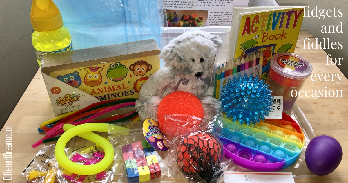 Mark Arnold offers ideas about meeting sensory needs through fidgets and fiddles in this post. Check out these great sensory box additions.