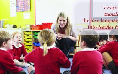 Communicating Your Child's Love Language to Educators